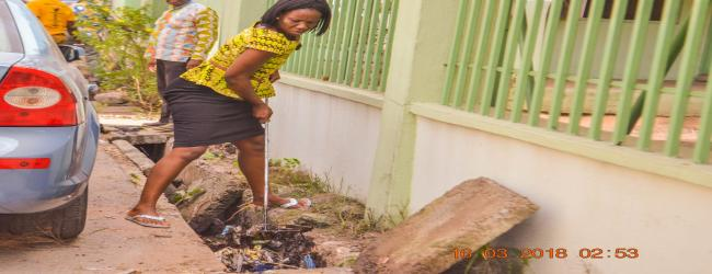 MASSIVE CLEAN-UP EXERCISE IN THE MINISTERIAL ENCLAVE