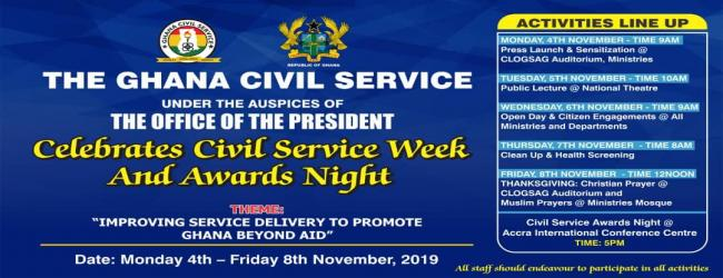 CIVIL SERVICE WEEL CELEBRATION